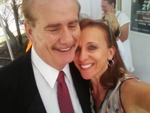 Laura Altobelli with Mayor Ed Parker