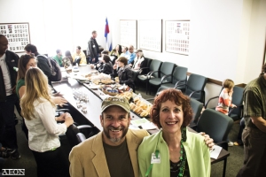Greg Duran and Teri Robnett at Cannabis Patients Day at the Capitol 2015
